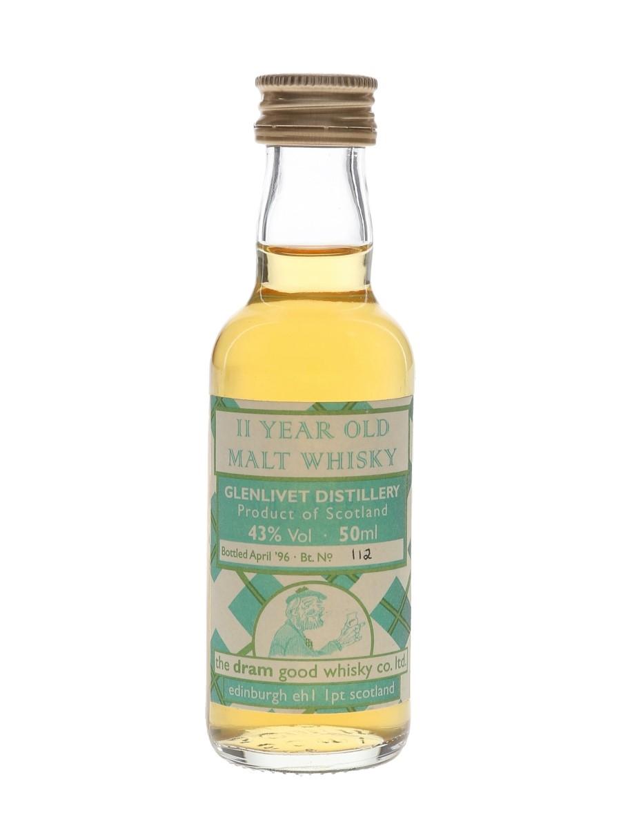 Glenlivet 11 Year Old Bottled 1996 - The Dram Good Whisky Co. Ltd. 5cl / 43%