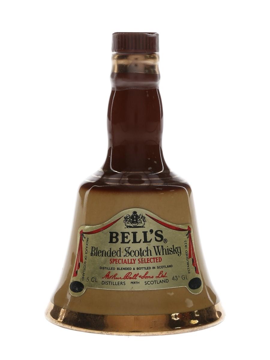 Bell's Old Brown Decanter Bottled 1980s 5cl / 43%