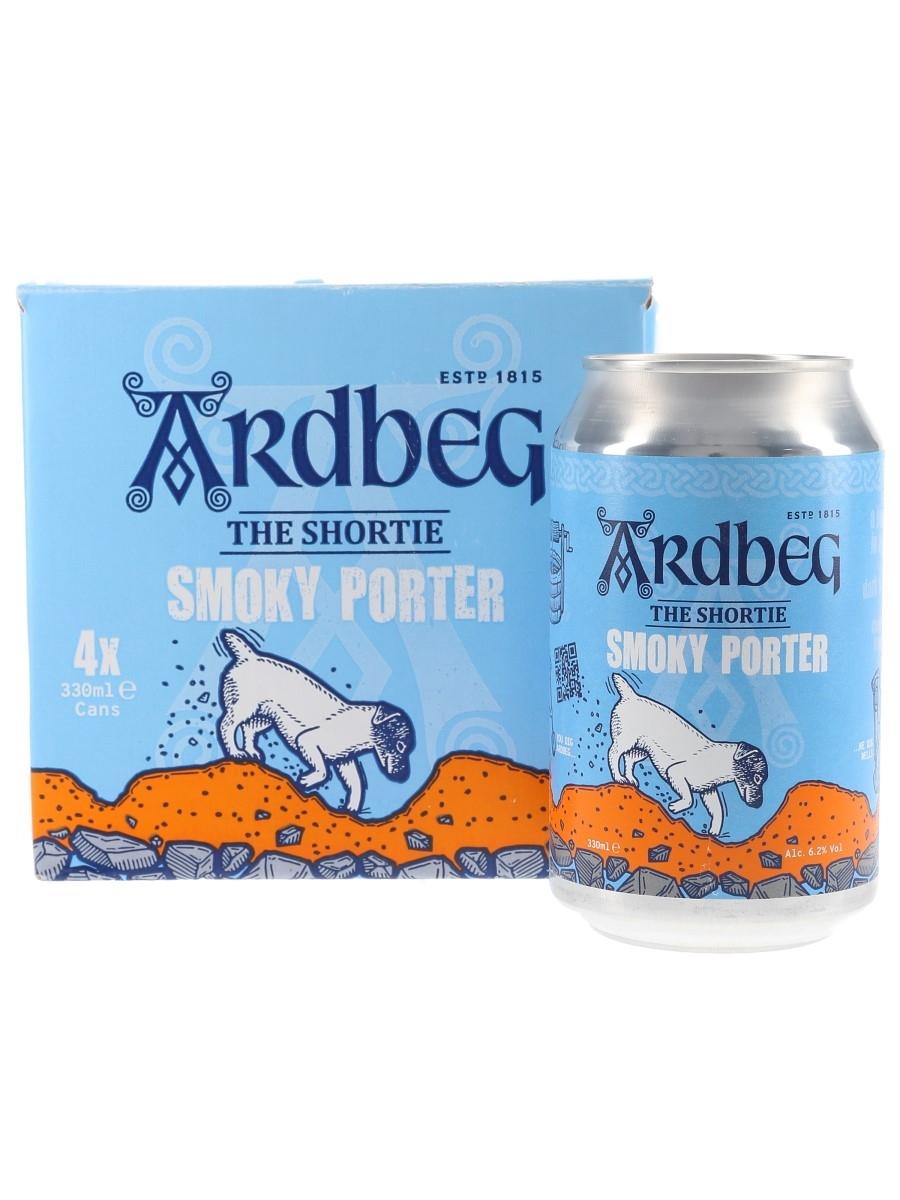 Ardbeg The Shortie Smoky Porter  4 x 33cl / 6.2%