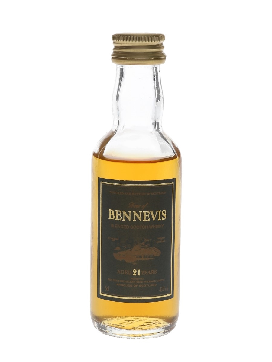 Dew of Ben Nevis 21 Year Old Bottled 1990s 5cl / 43%