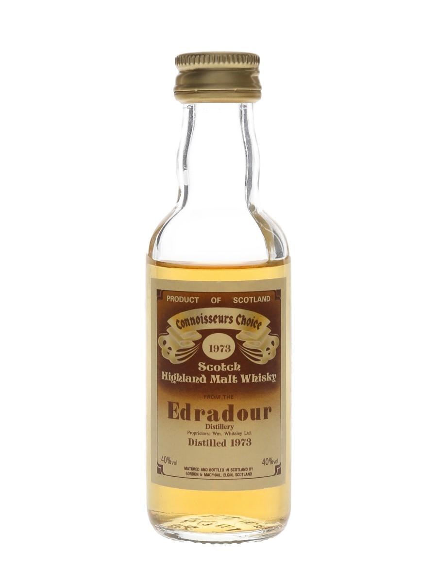 Edradour 1973 Bottled 1980s - Connoisseurs Choice 5cl / 40%