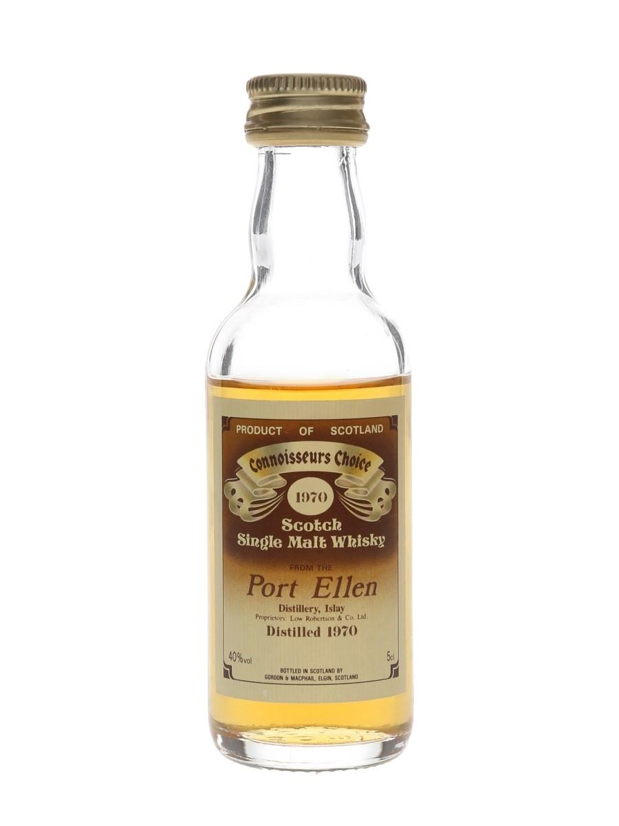 Port Ellen 1970 Bottled 1980s - Connoisseurs Choice 5cl / 40%