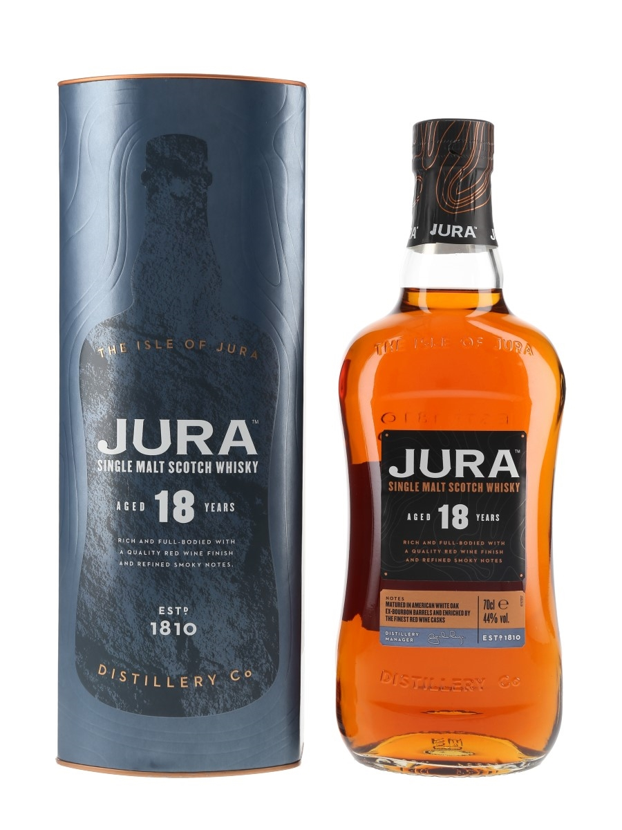 Jura 18 Year Old Red Wine Finish 70cl / 44%