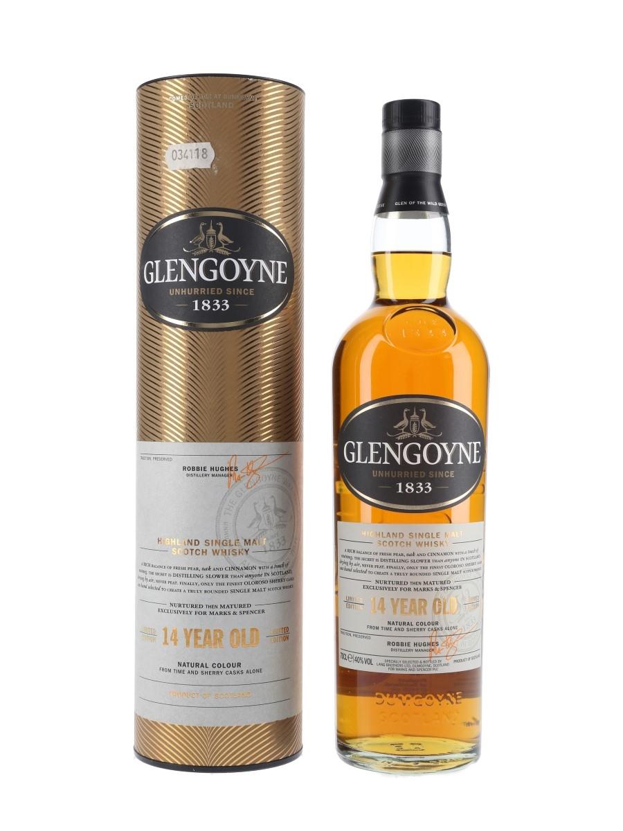 Glengoyne 14 Year Old Bottled 2017 - Marks & Spencer 70cl / 40%