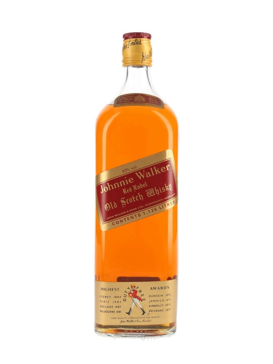 Johnnie Walker Red Label Bottled 1980s 112.5cl / 43%