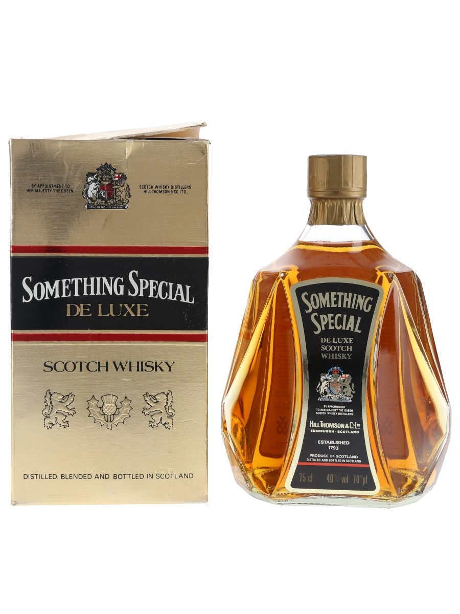 Something Special De Luxe Bottled 1980s 75cl / 40%