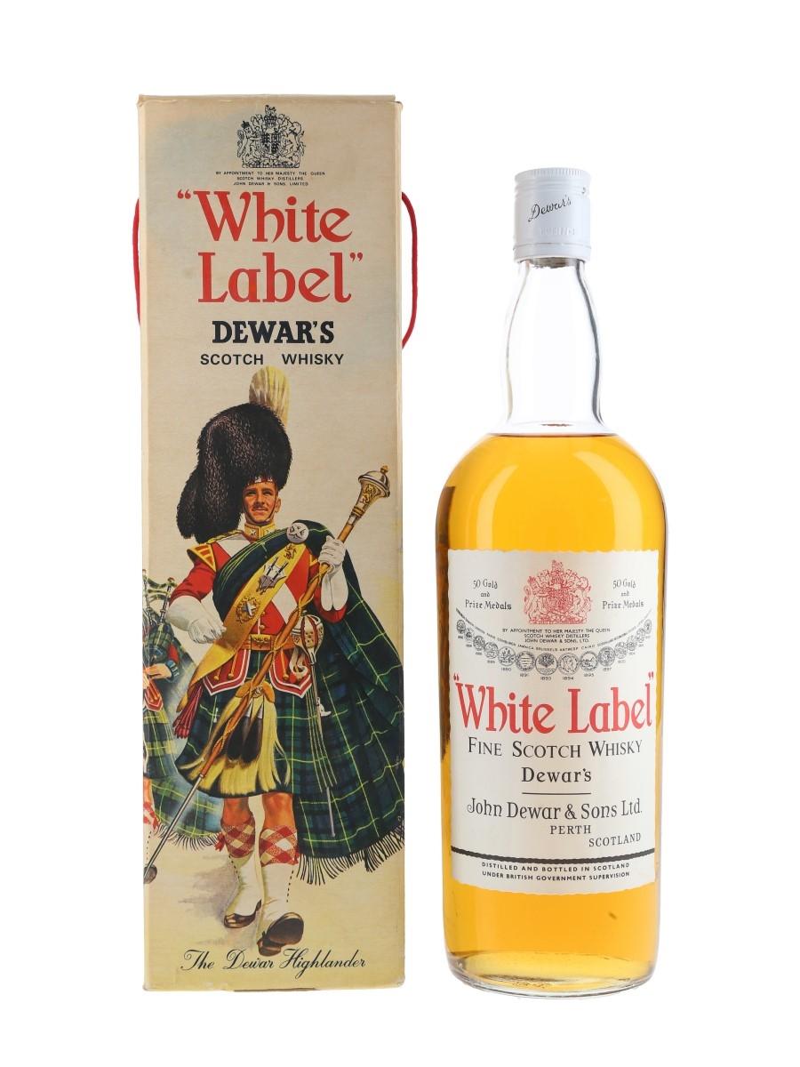 Dewar's White Label Bottled 1970s 100cl