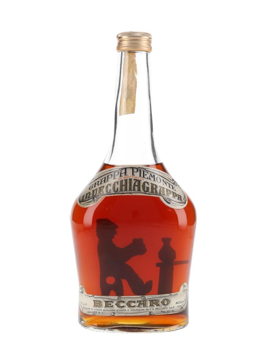 Beccaro Piemonte Invecchia Grappa Bottled 1980s 75cl / 42%