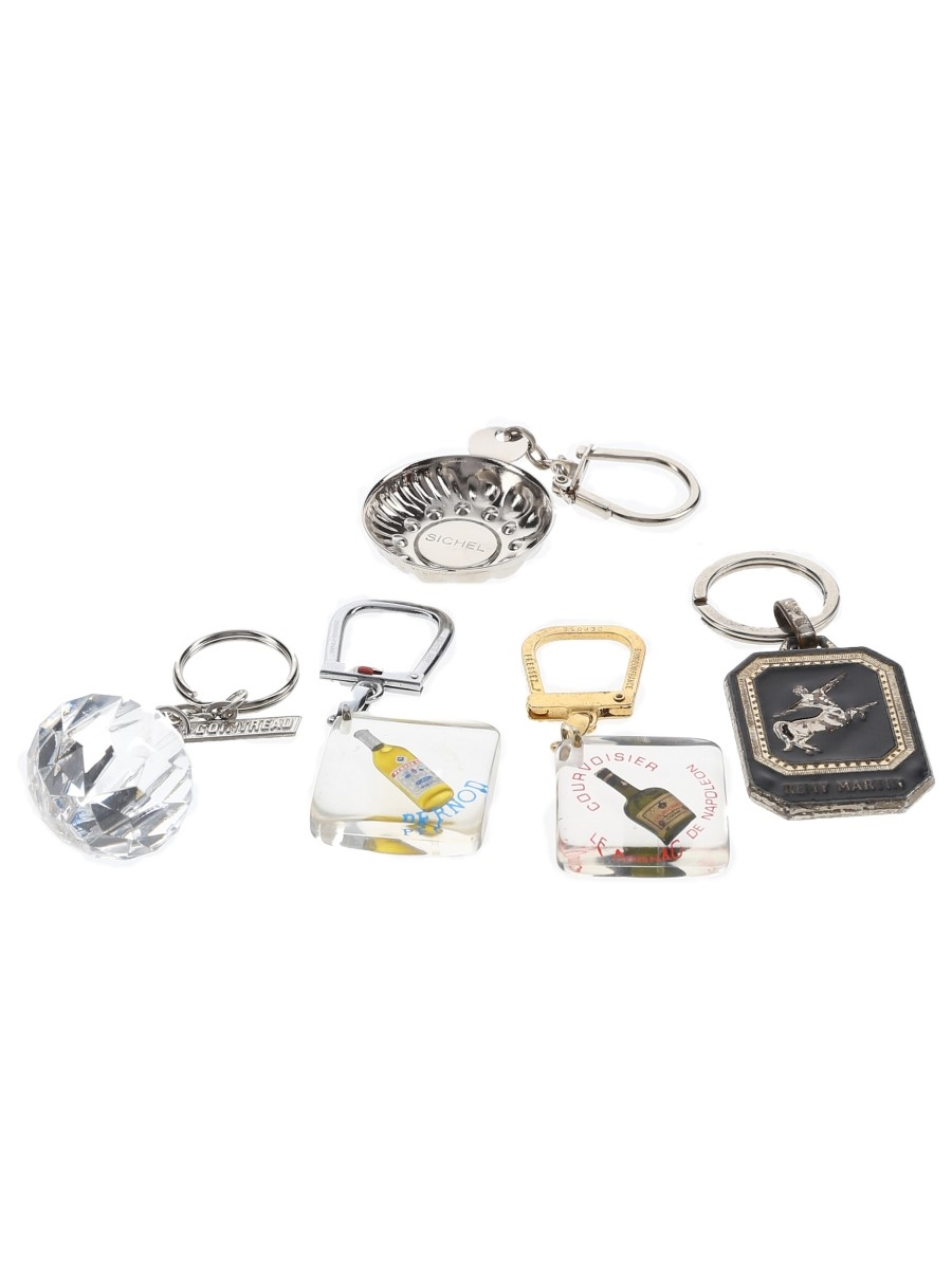 Assorted Keyrings Cointreau, Courvoisier, Pernod, Remy Martin, Sichel