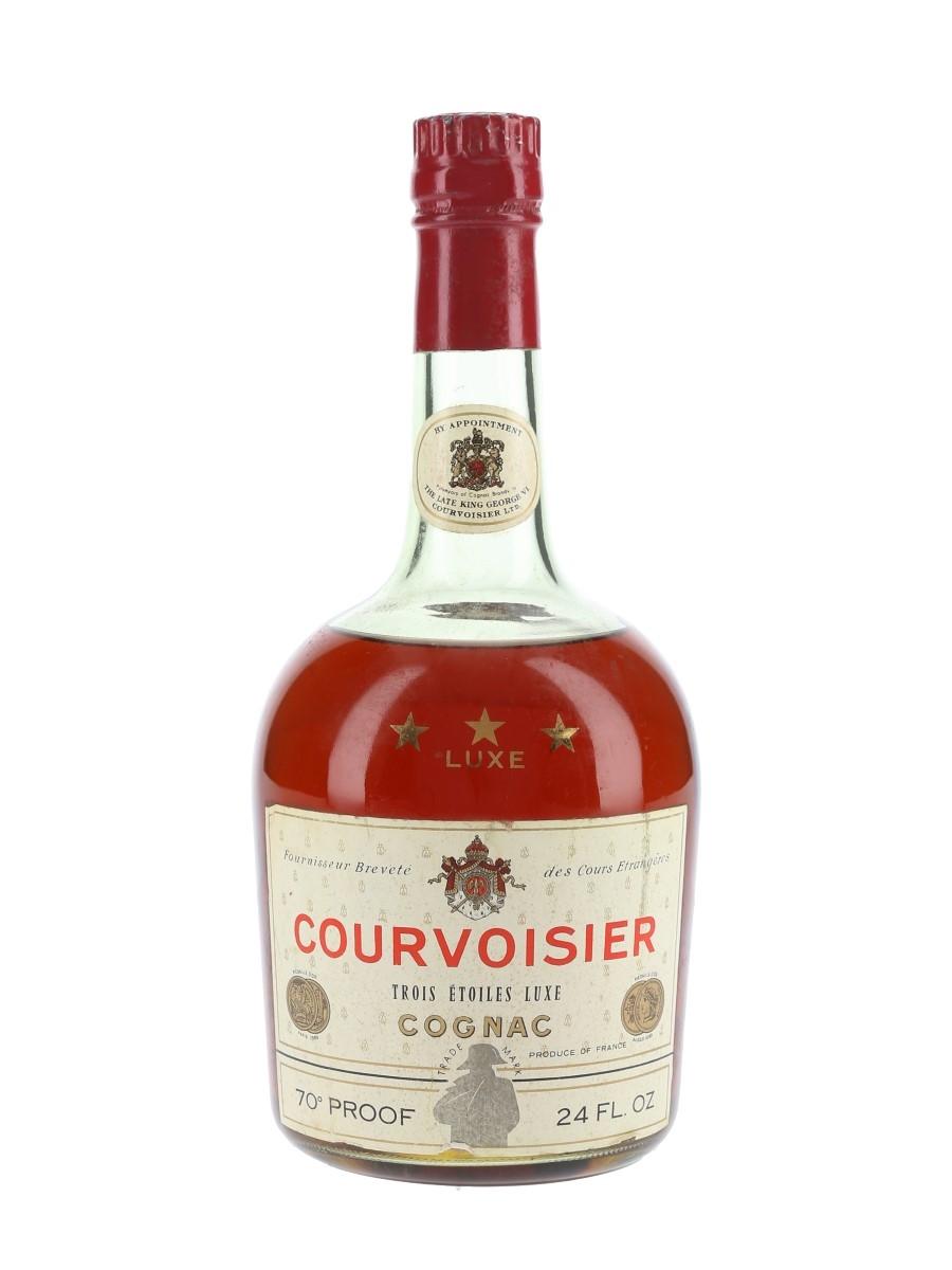 Courvoisier 3 Star Luxe Bottled 1960s 68cl / 40%