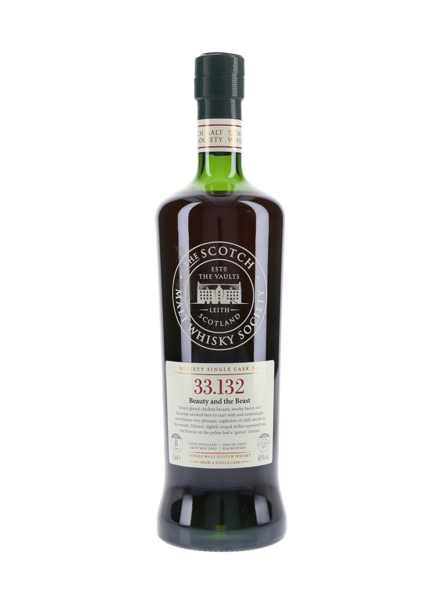 SMWS 33.132 Beauty And The Beast Ardbeg 2007 8 Year Old 70cl / 60.9%