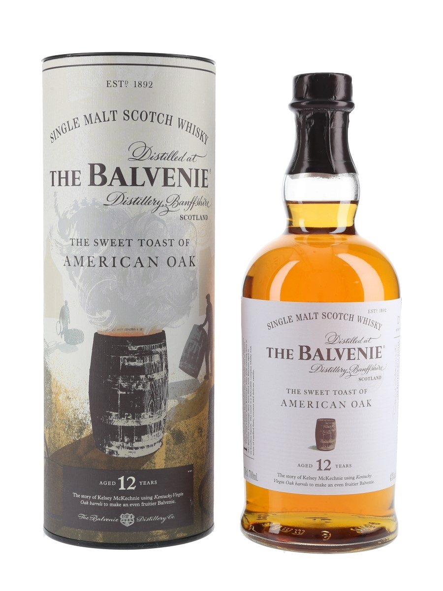 Balvenie 12 Year Old The Sweet Toast Of American Oak The Balvenie Stories - Story No.1 70cl / 43%
