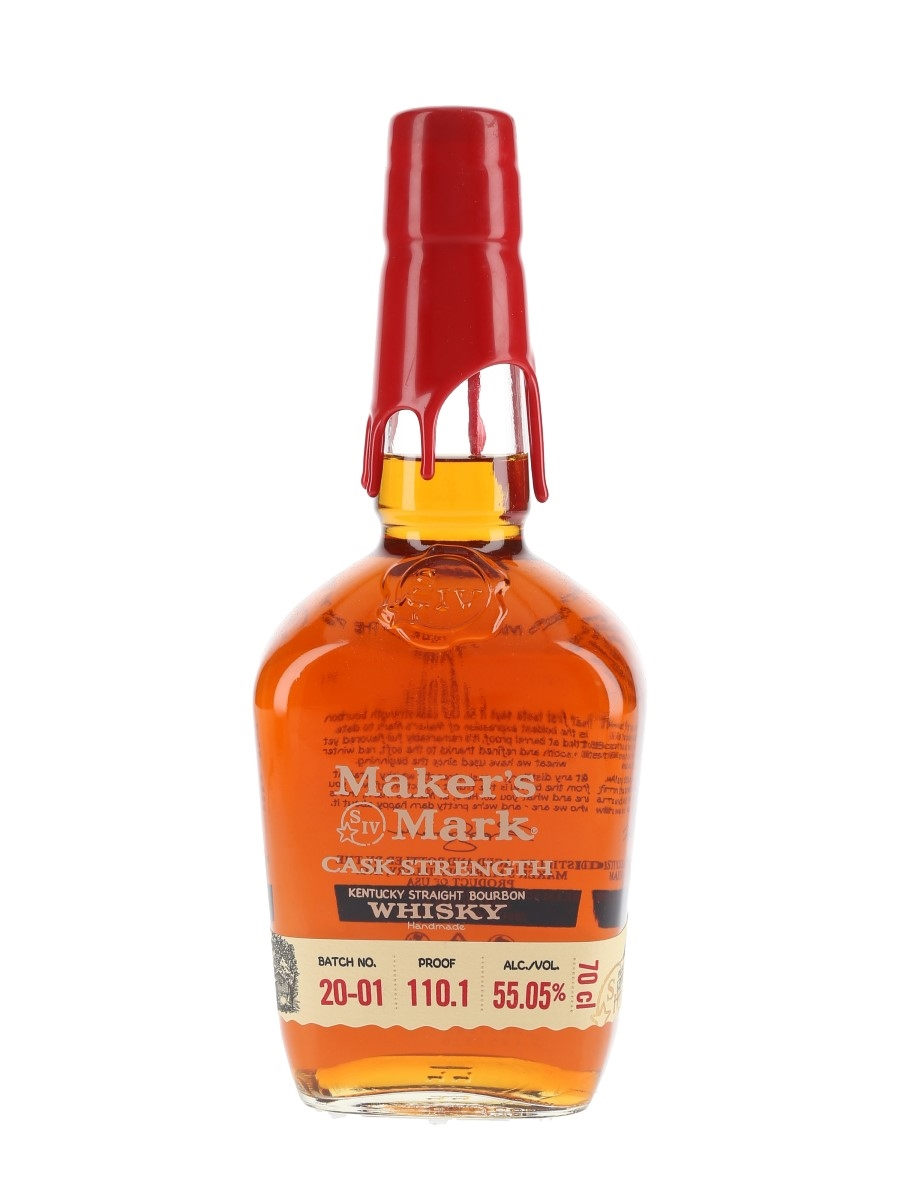 Maker's Mark Cask Strength Batch No.20-01  70cl / 55.05%