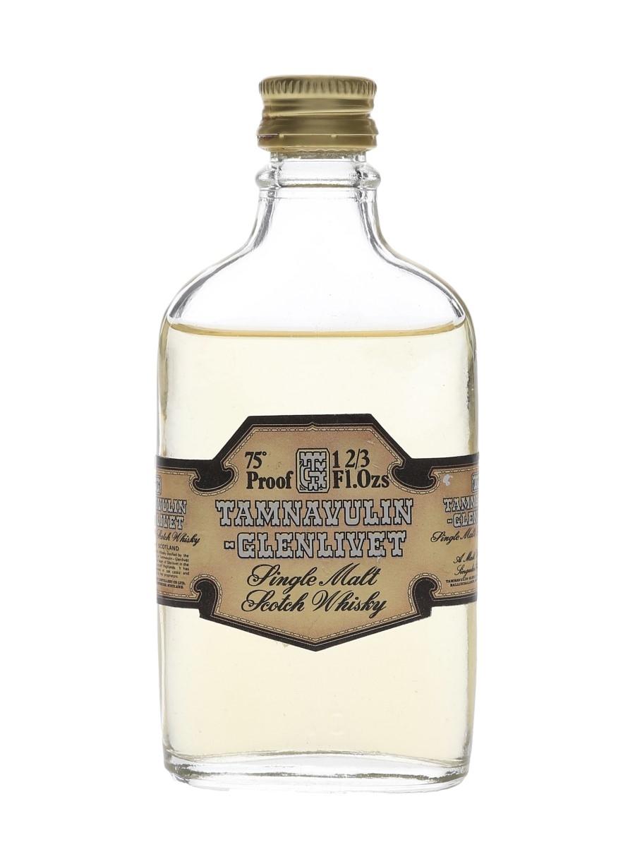 Tamnavulin Glenlivet Bottled 1970s 4.7cl / 43%