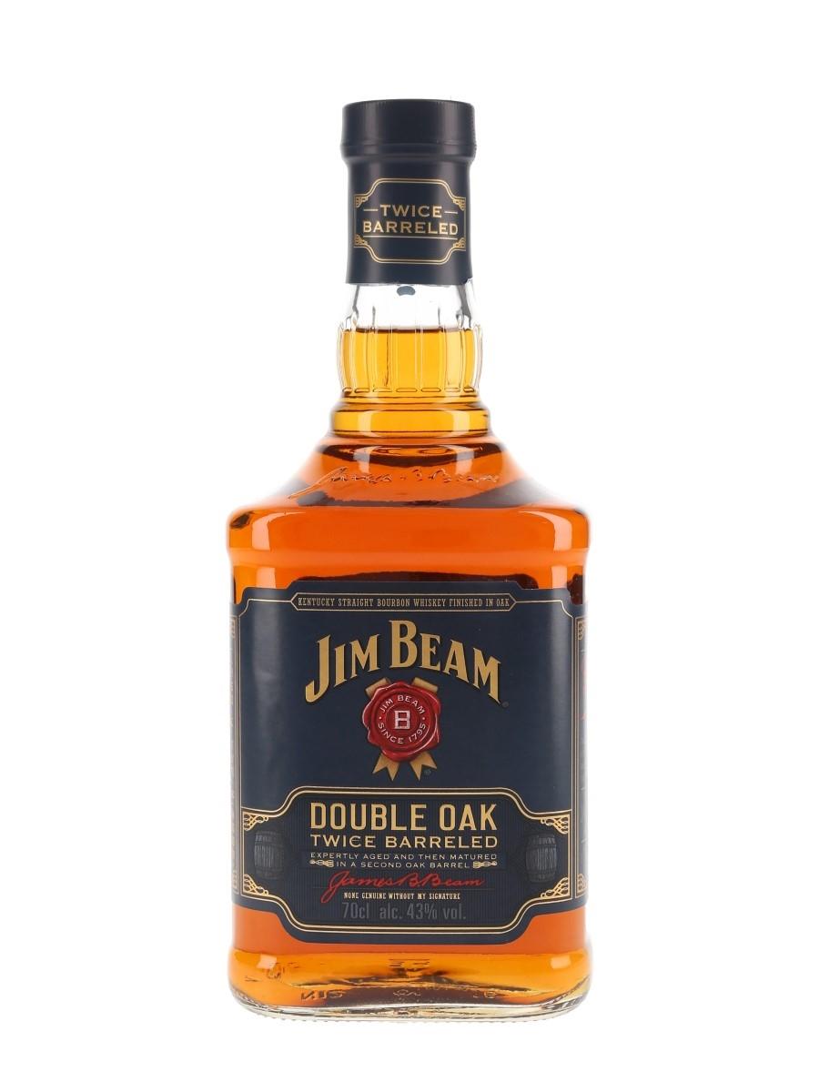Jim Beam Double Oak Twice Barreled 70cl / 43%