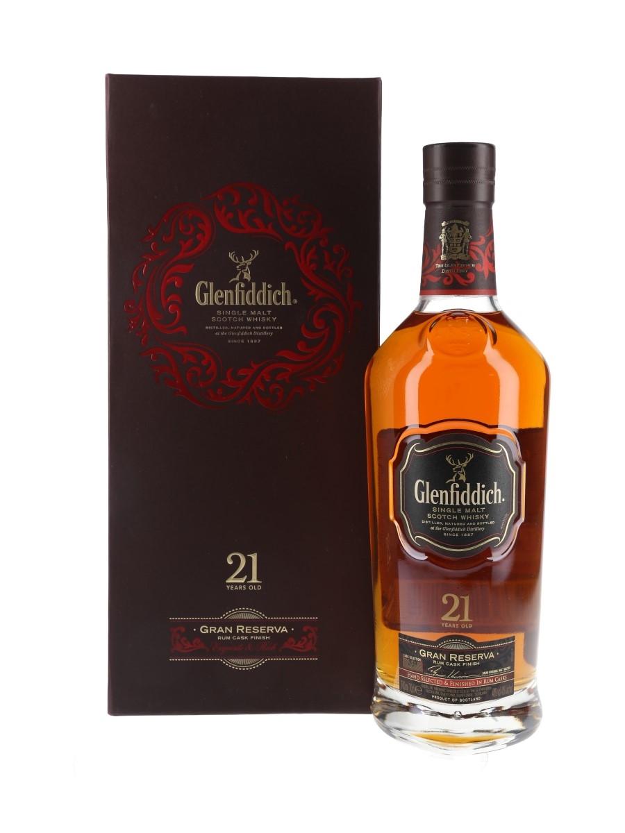 Glenfiddich 21 Year Old Gran Reserva Rum Cask Finish 70cl / 40%