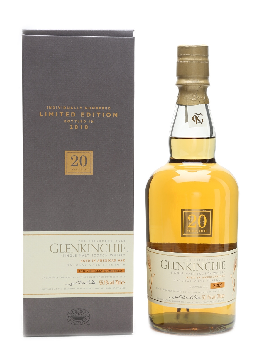 Glenkinchie 1990 20 Year Old Special Releases 2010 70cl / 55.1%