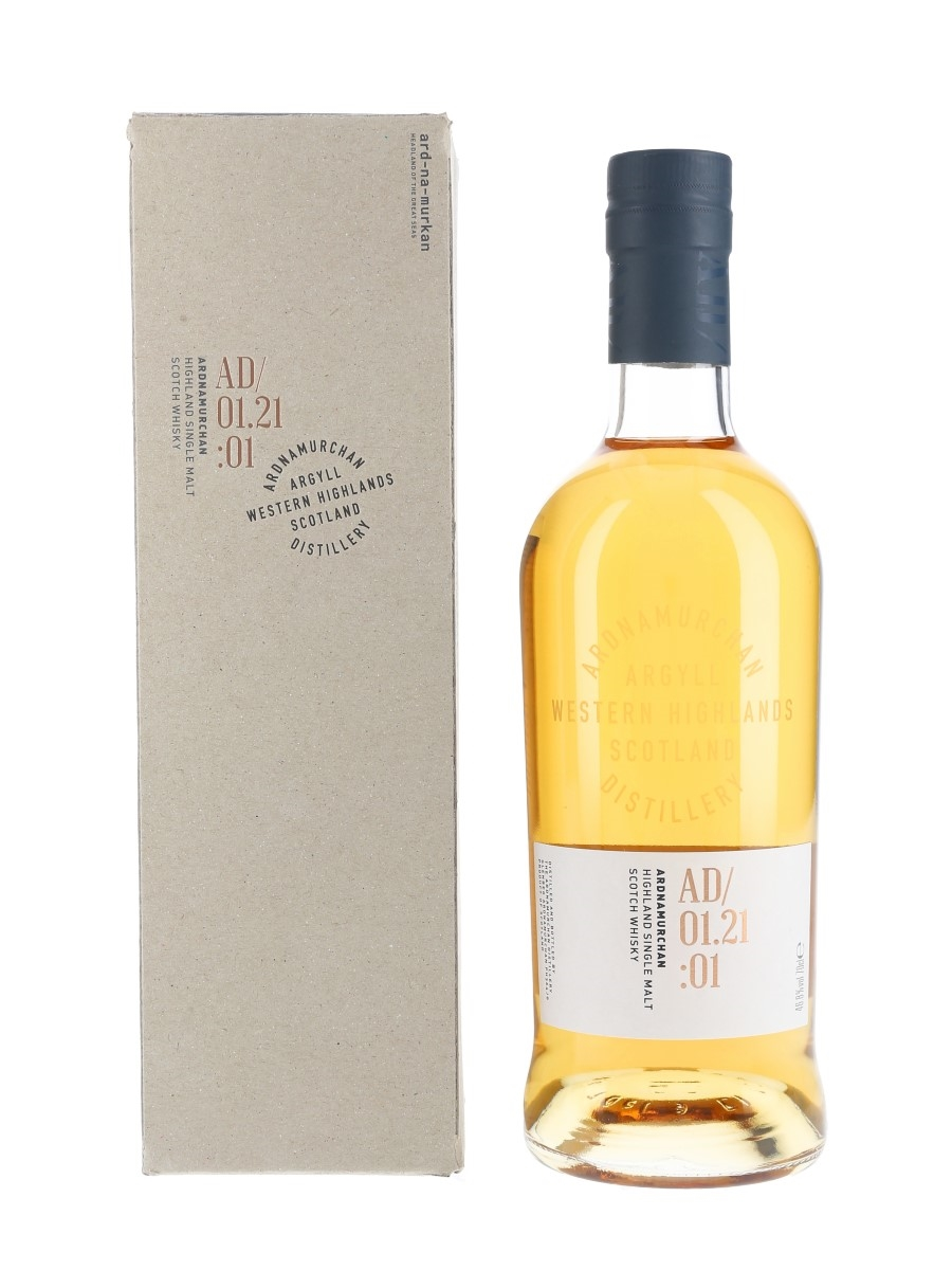 Ardnamurchan Single Malt AD:01.21:1 Second Release 70cl / 46.8%