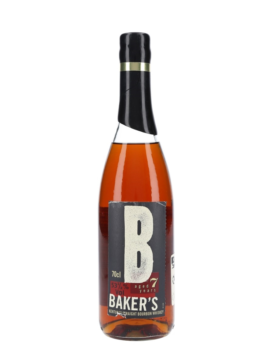 Baker's 7 Year Old 107 Proof Bourbon Batch No. B-90-001 70cl / 53.5%