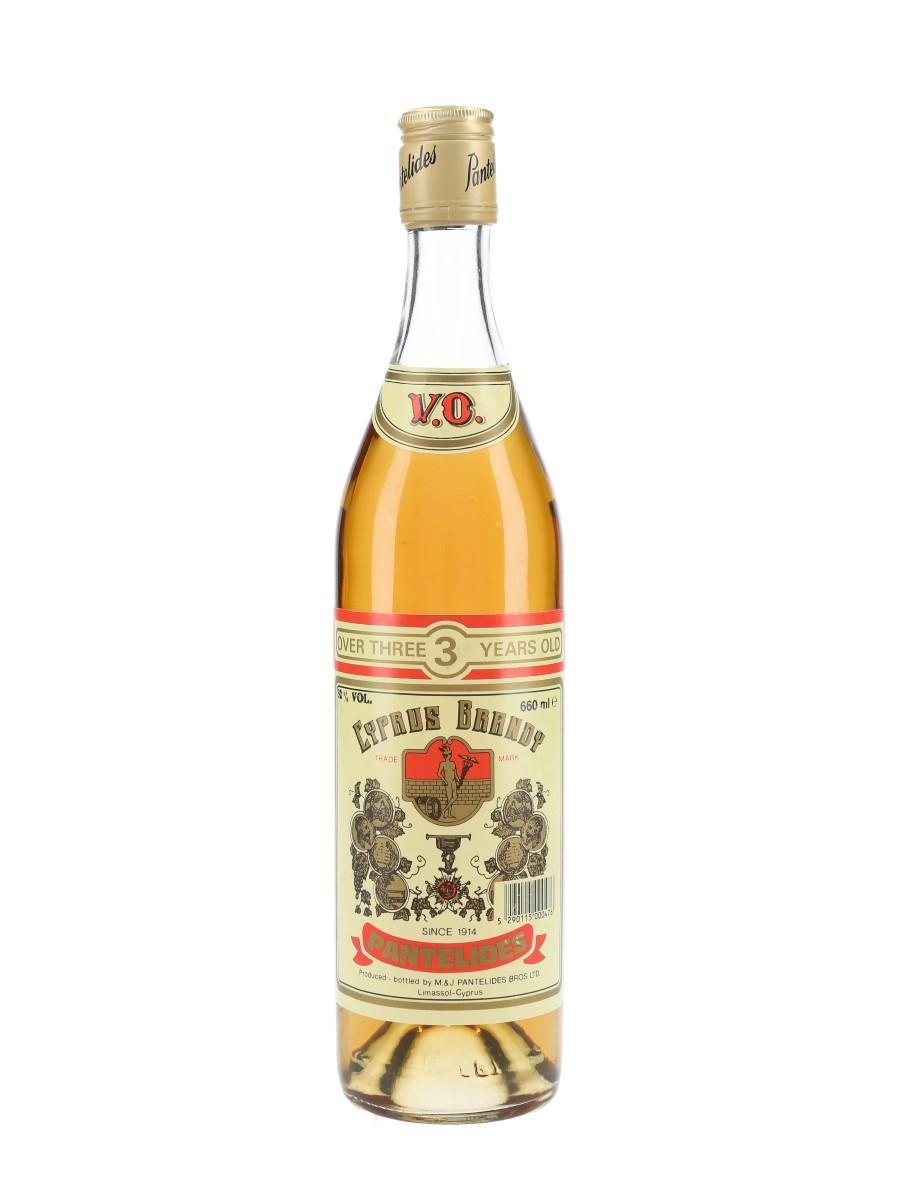 Pantelides 3 Year Old Cyprus Brandy 66cl / 32%