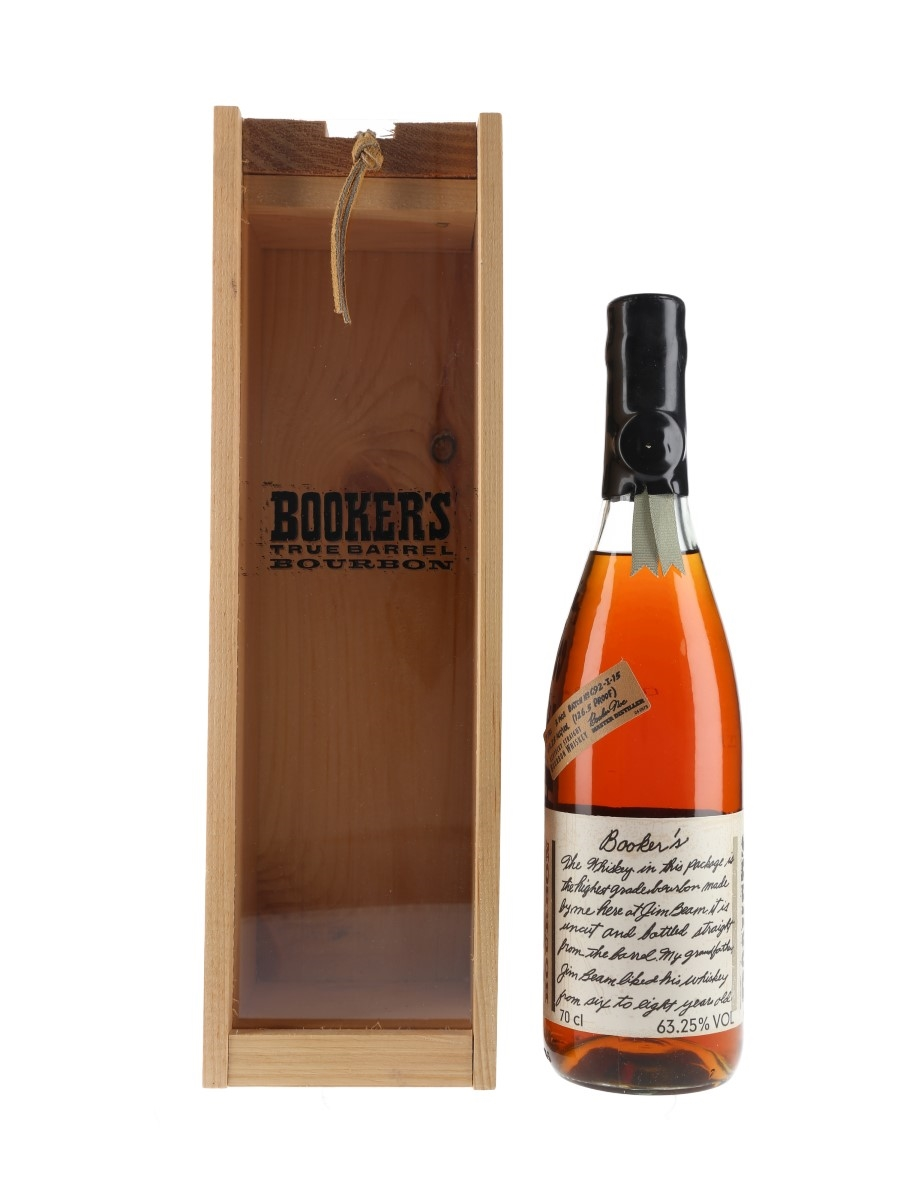 Booker's 7 Year Old Batch C92-I-15 70cl / 63.25%