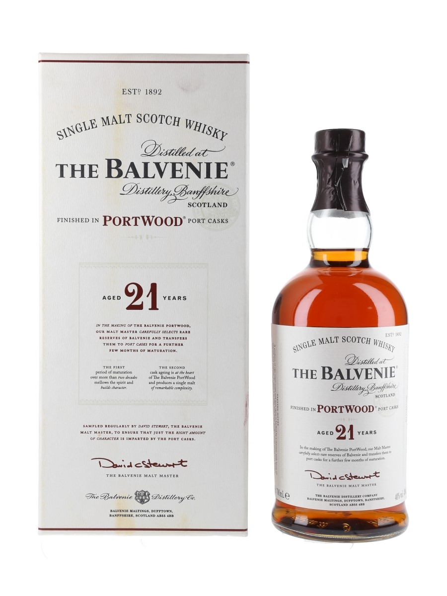 Balvenie 21 Year Old Portwood Finish  70cl / 40%