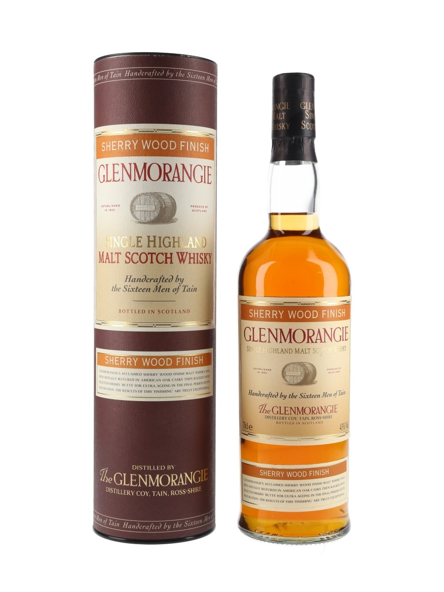 Glenmorangie Sherry Wood Finish Bottled 2000s 70cl / 43%