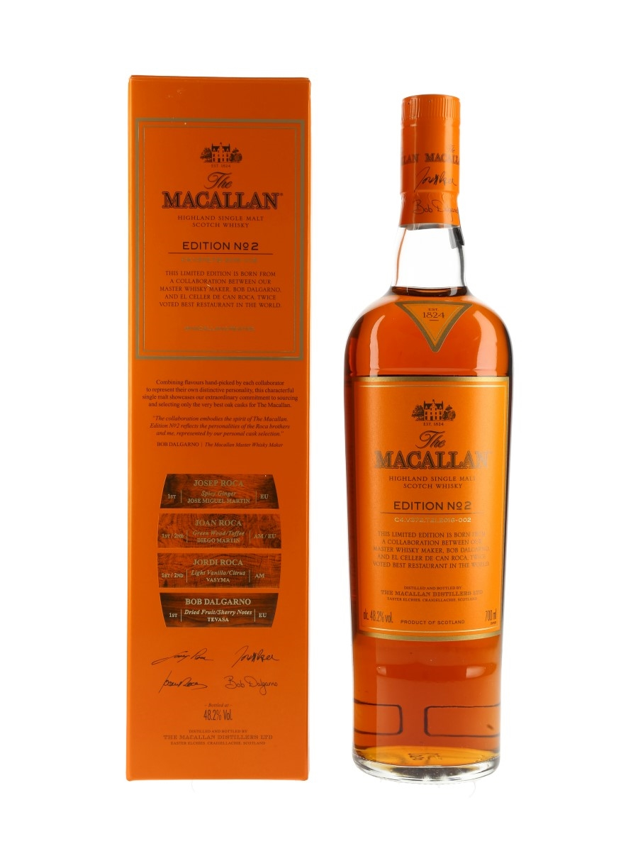 Macallan Edition No.2  70cl / 48.2%