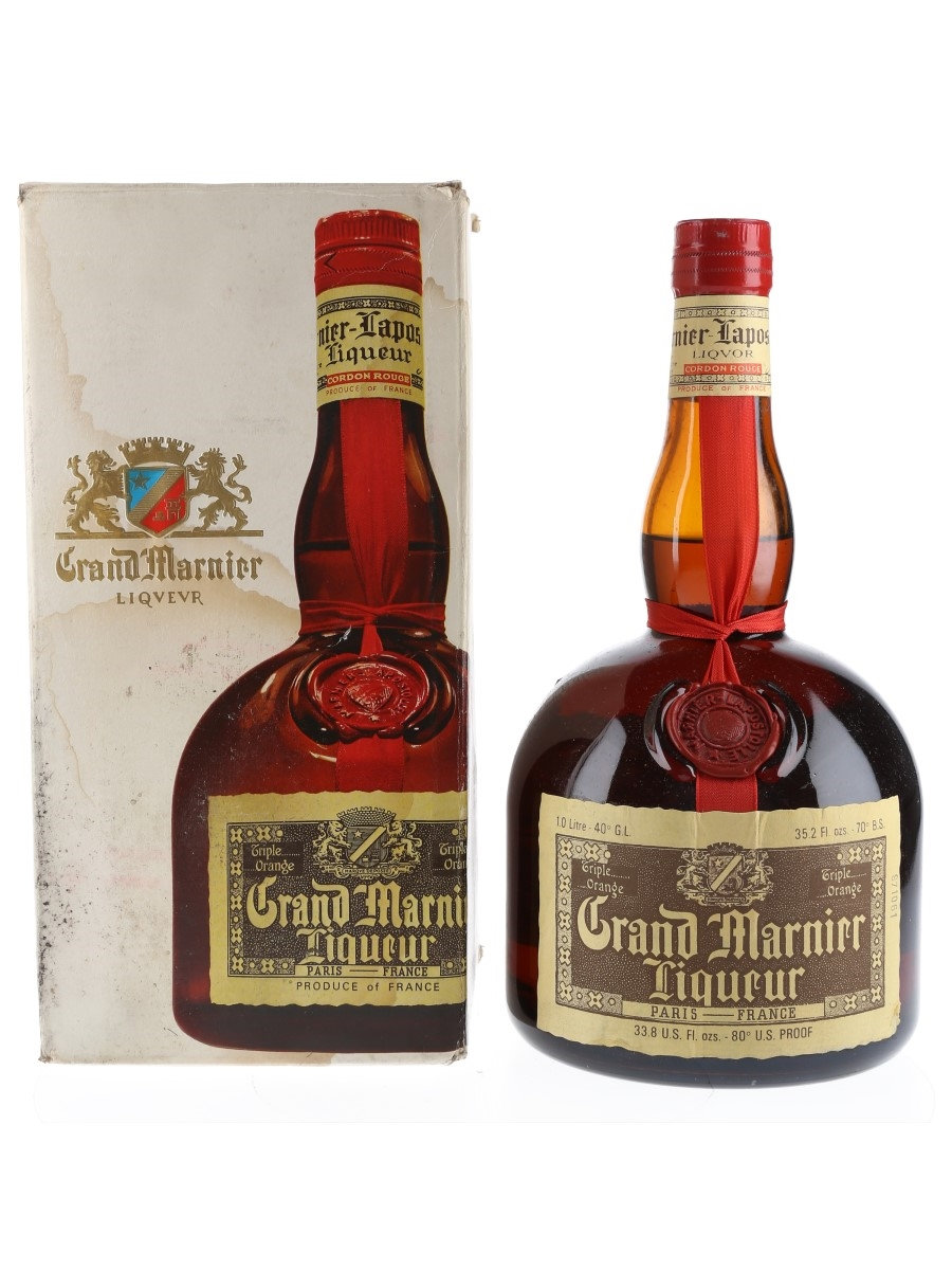Grand Marnier Cordon Rouge Bottled 1960s-1970s 100cl / 40%