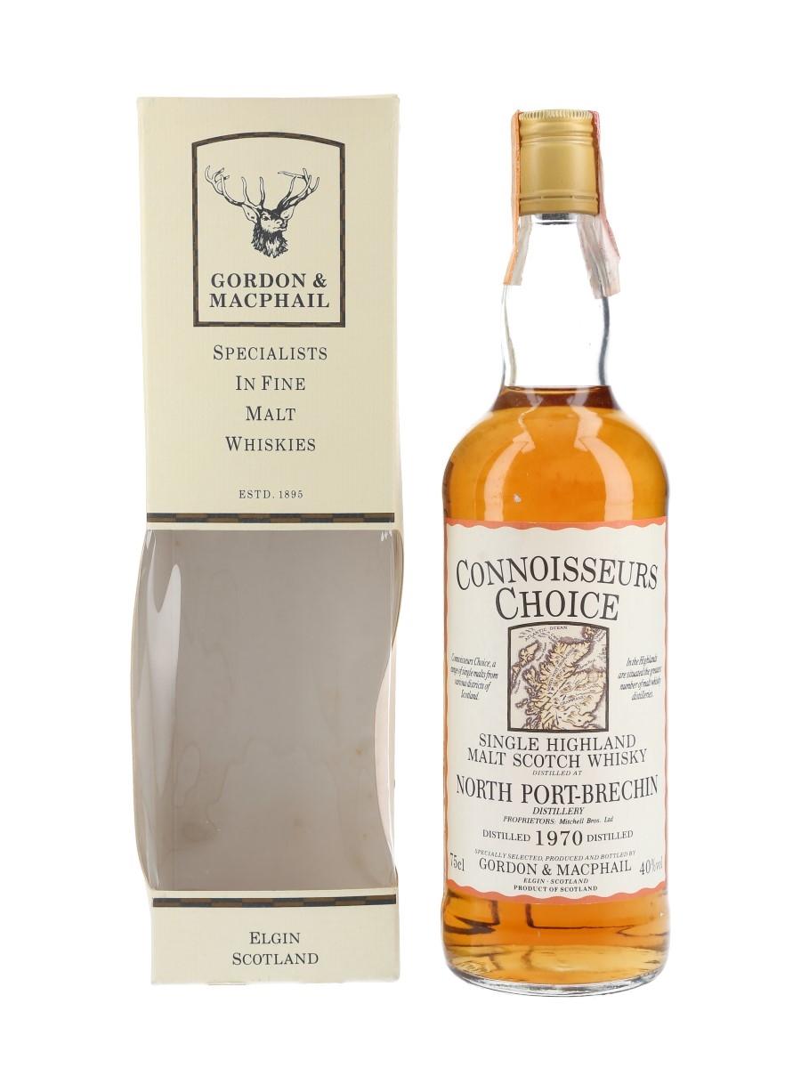 North Port Brechin 1970 Connoisseurs Choice Bottled 1990s - Gordon & MacPhail 75cl / 40%