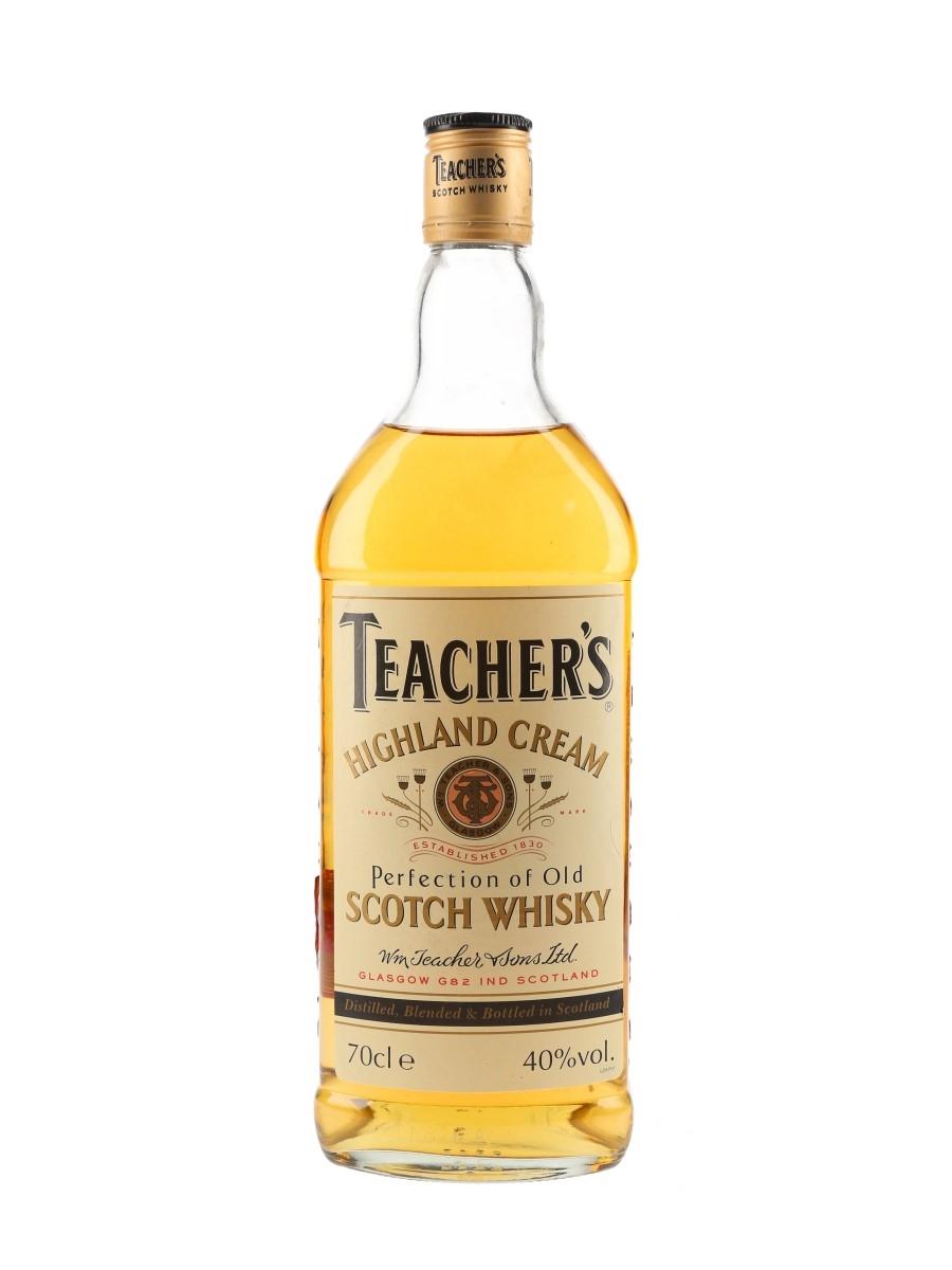 Teacher's Highland Cream Bottled 1990s 70cl / 40%