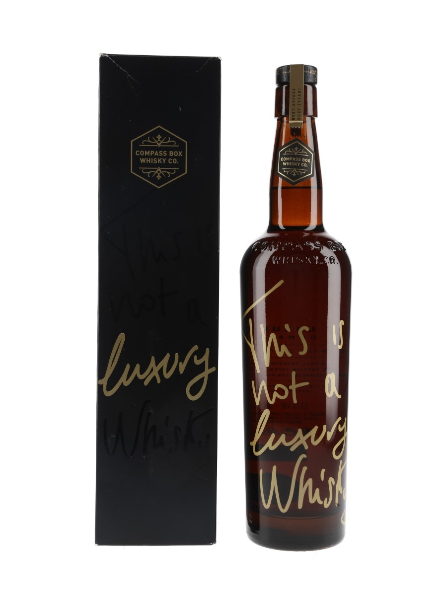 Compass Box This Is Not A Luxury Whisky Bottled 2015 70cl / 53.1%