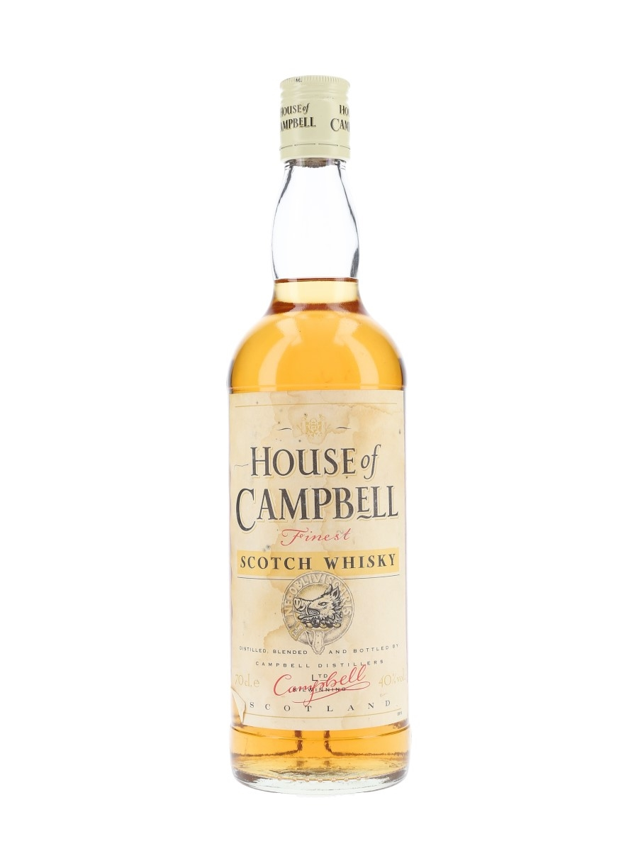 House Of Campbell Bottled 1990s 70cl / 40%