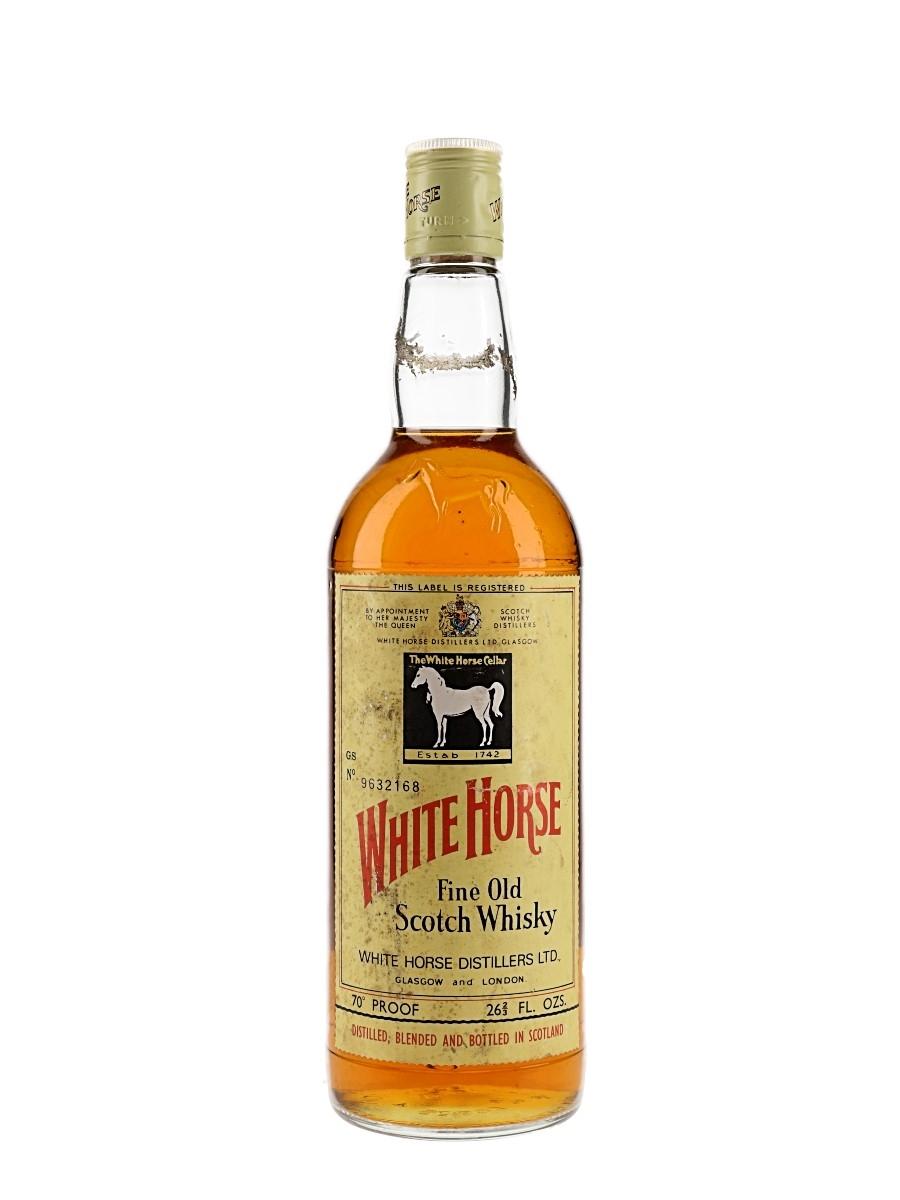 White Horse Bottled 1970s 75.7cl / 40%