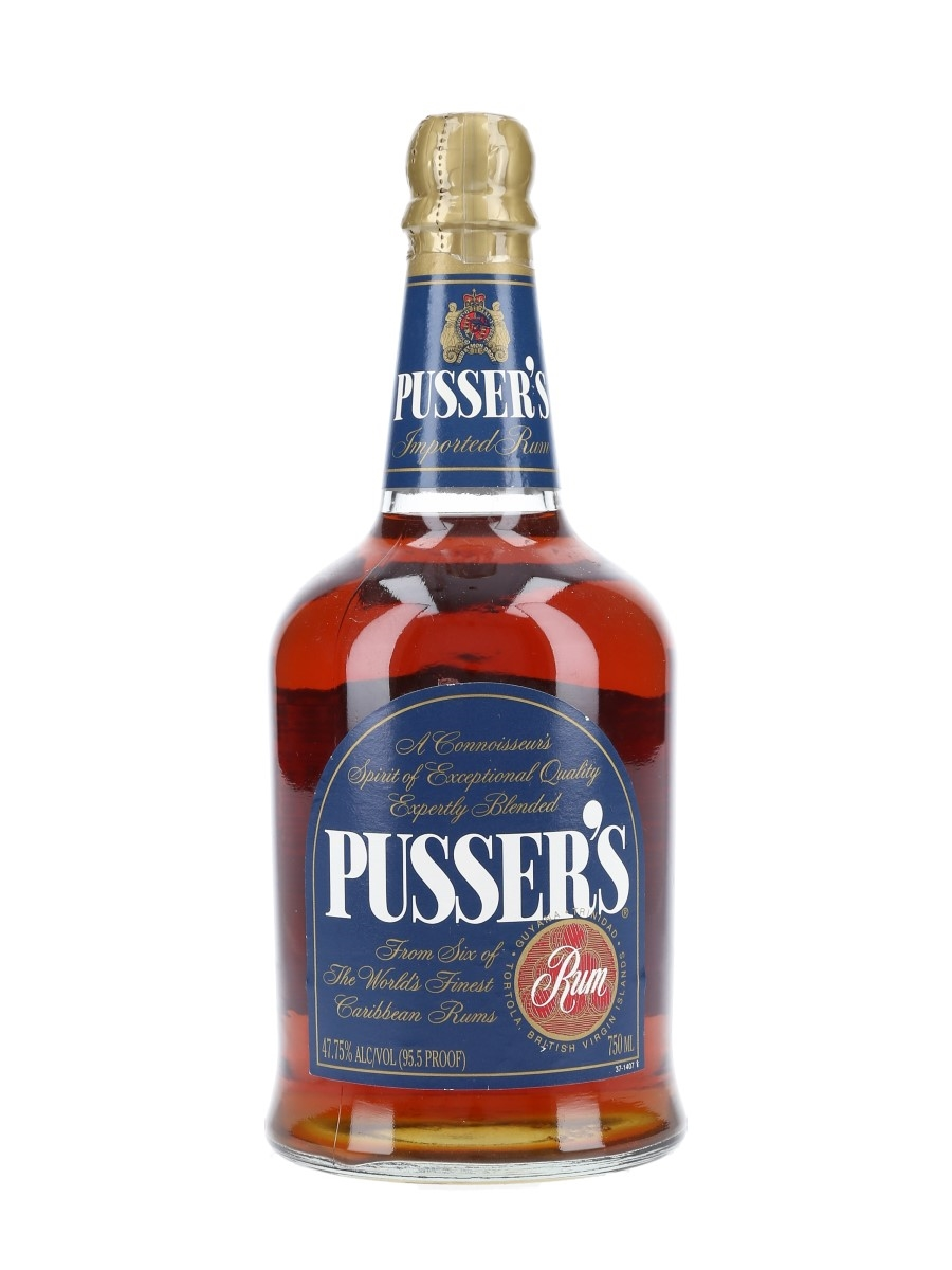Pusser's Imported Rum Bottled 1990s 75cl / 47.75%