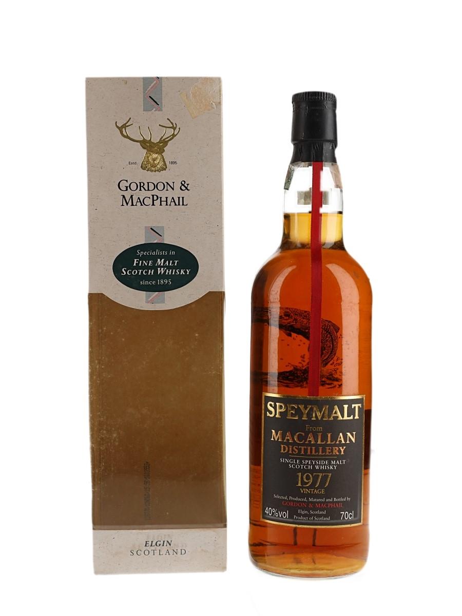 Macallan 1977 Speymalt Bottled 2000 - Giuseppe Meregalli 70cl / 40%