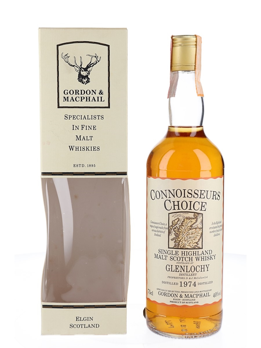 Glenlochy 1974 Connoisseurs Choice Bottled 1980s-1990s - Gordon & MacPhail 75cl / 40%