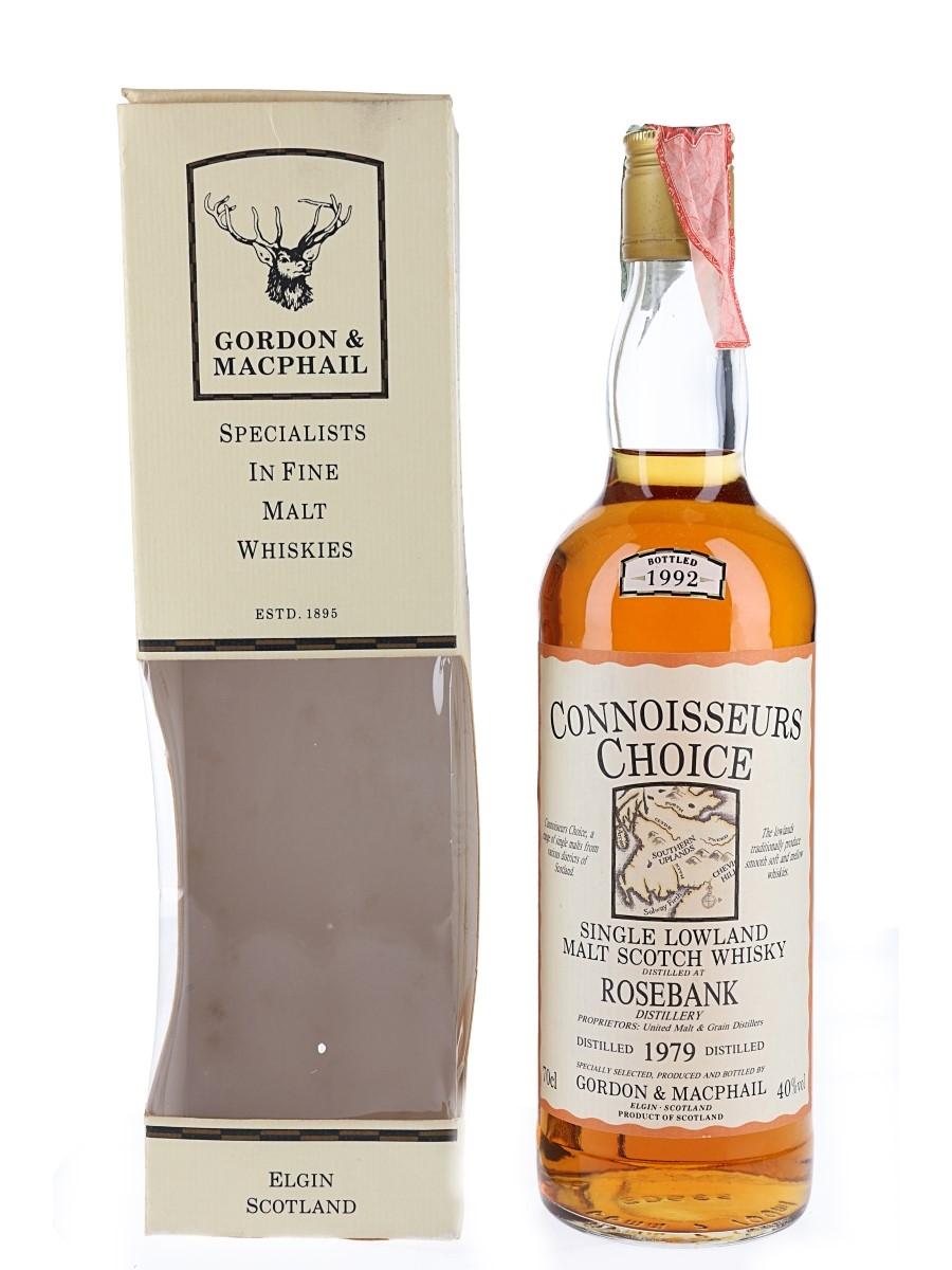 Rosebank 1979 Connoisseurs Choice Bottled 1992 - Gordon & MacPhail 70cl / 40%