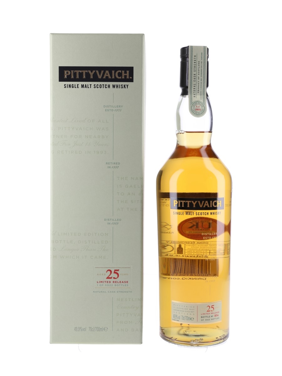 Pittyvaich 1989 25 Year Old Special Releases 2015 70cl / 49.9%