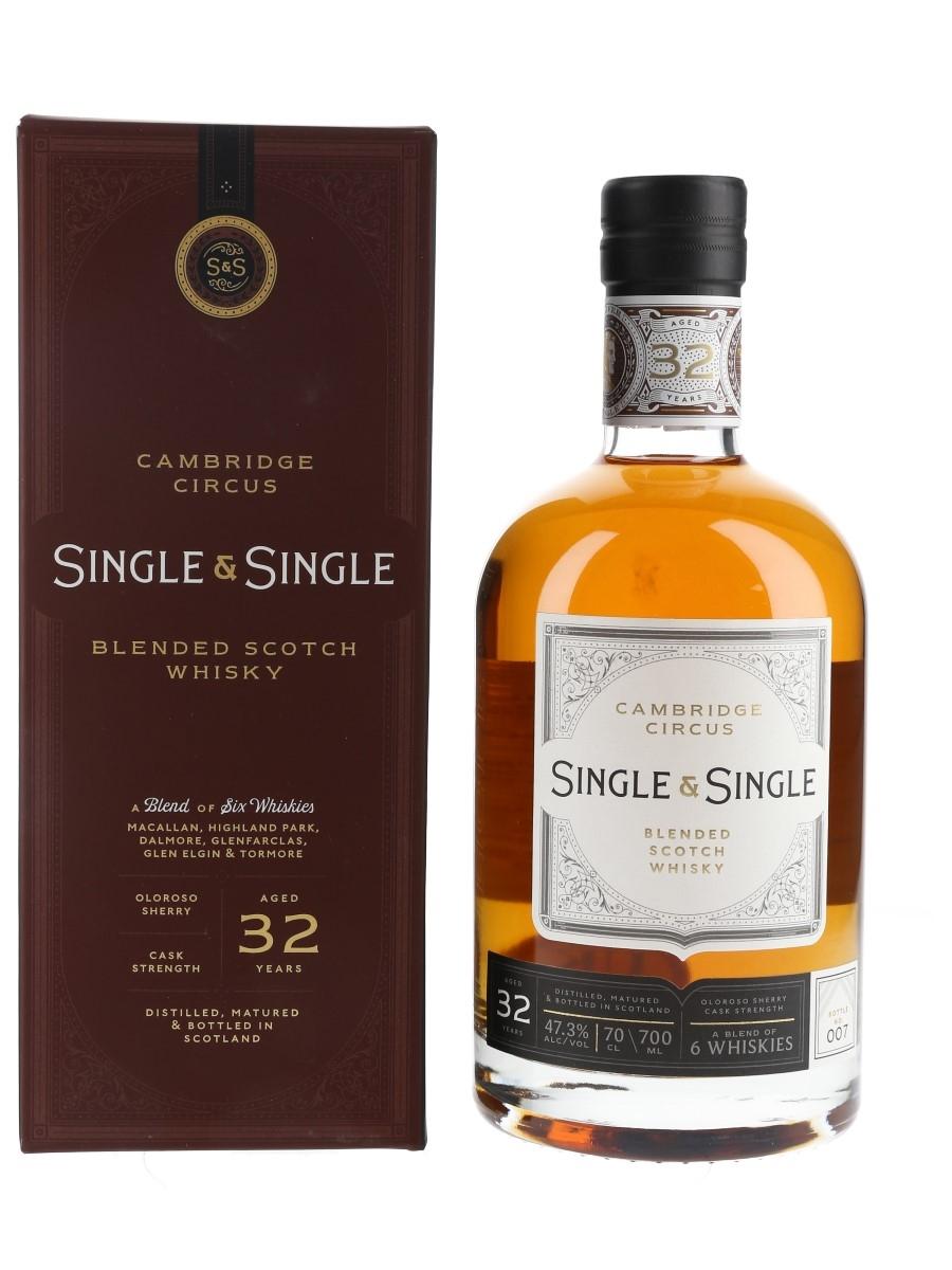 Cambridge Circus 32 Year Old Single & Single - Bottle No. 007 70cl / 47.3%