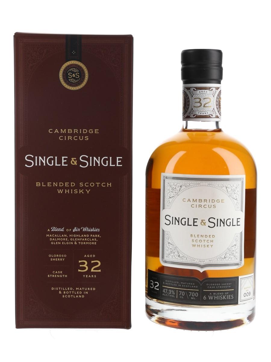 Cambridge Circus 32 Year Old Single & Single - Bottle No. 009 70cl / 47.3%