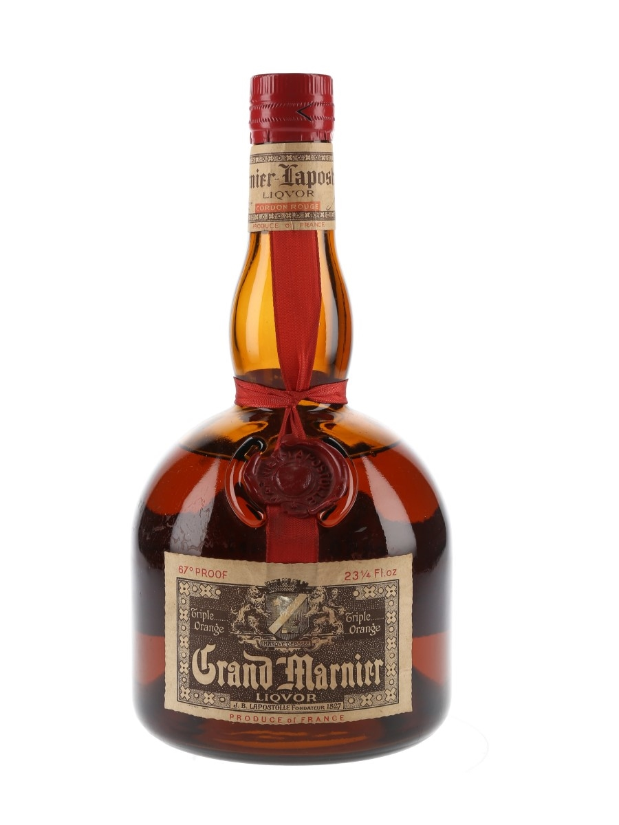 Grand Marnier Cordon Rouge Bottled 1970s 66cl / 38.2%