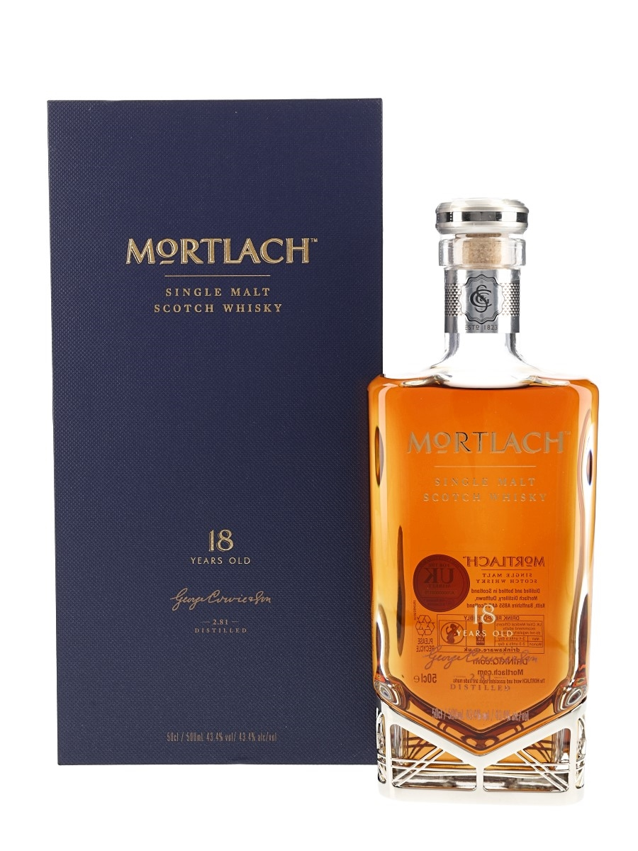 Mortlach 18 Year Old 2.81 Distilled 50cl / 43.4%