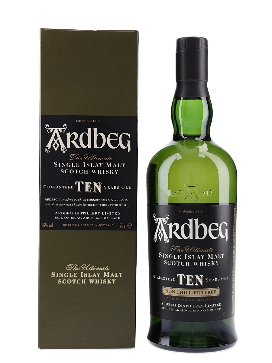 Ardbeg 10 Year Old Bottled 2005 70cl / 46%
