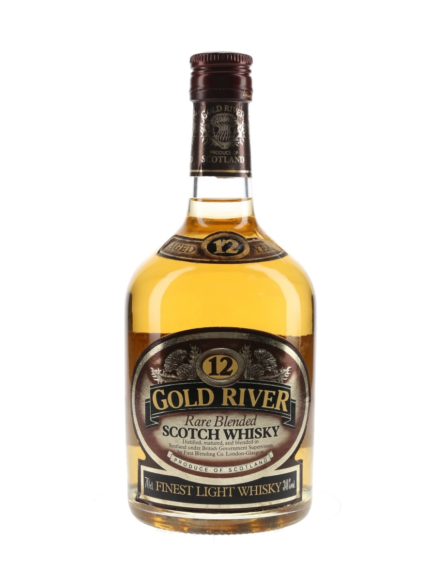 Gold River 12 Year Old  70cl / 30%