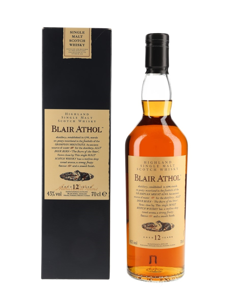 Blair Athol 12 Year Old Flora & Fauna 70cl / 43%