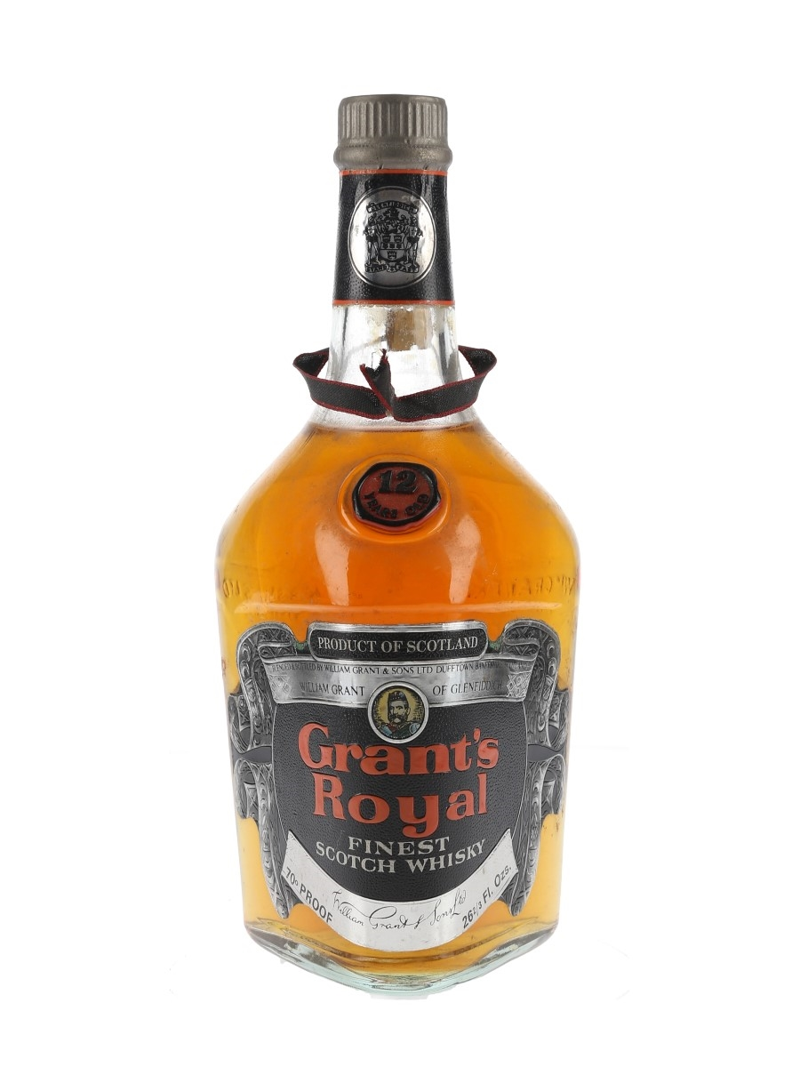 Grant's Royal 12 Year Old Bottled 1970s 75.7cl / 40%