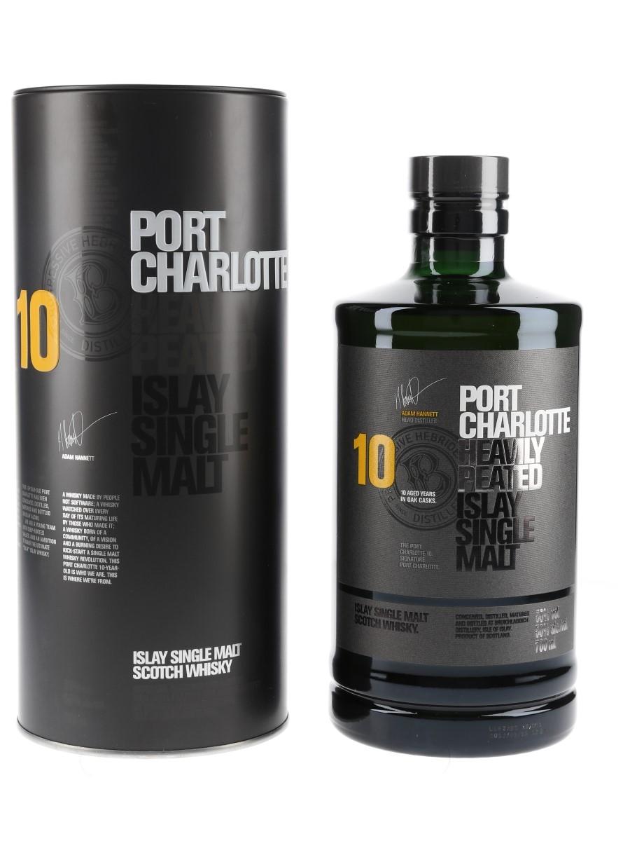 Port Charlotte 10 Year Old Bottled 2019 - Bruichladdich 70cl / 50%