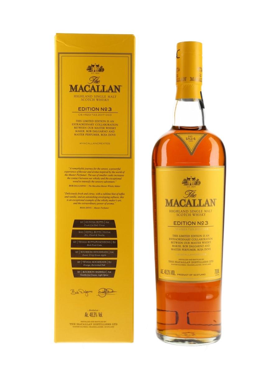 Macallan Edition No.3  70cl / 48.3%