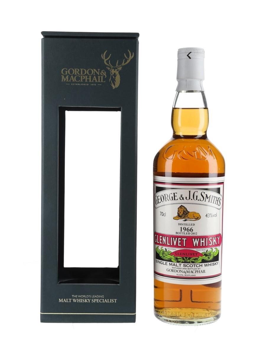 Glenlivet 1966 Bottled 2012 - Gordon & MacPhail 70cl / 43%